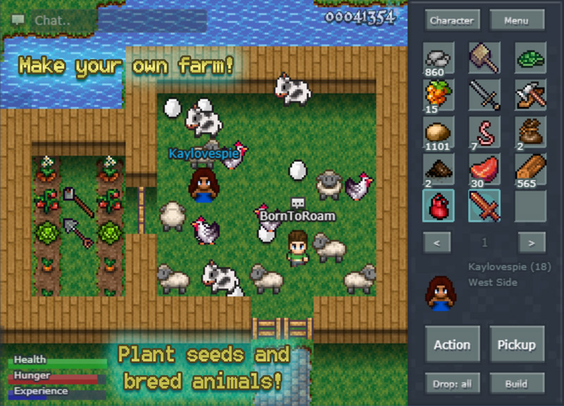 Mystera Legacy Free 2D Sandbox MMO RPG | Mystera Legacy